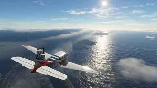 Реалистичность впечатляет: игрок одновременно пролетел на реальном и виртуальном самолетах