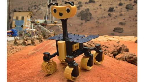 Марсоход Rosalind Franklin ExoMars доступен каждому: чертежи 3D-версии от ESA