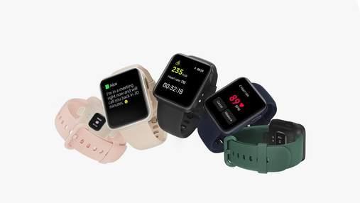 Xiaomi Mi Watch Lite: випустили новий доступний смарт-годинник