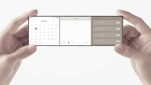 OPPO продемонструвала нову концепцію гнучкого смартфона