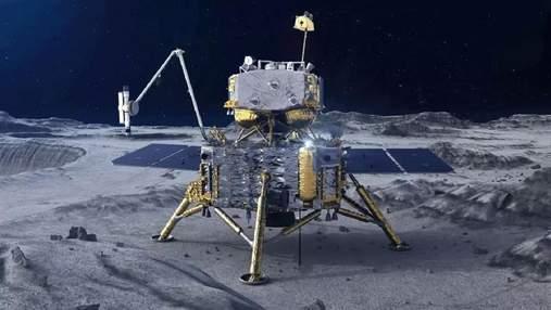 Китай доставив на Землю ґрунт з Місяця: фото, відео