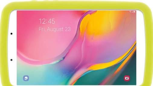 Samsung випустила дитячий планшет з функціями для розвитку і безпеки