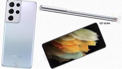 Samsung Galaxy S21 Ultra: з'явилися детальні характеристики флагманського смартфона