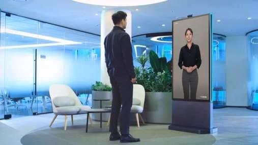 Інноваційний банк: Samsung розробила штучну людину Neon Frame – відео