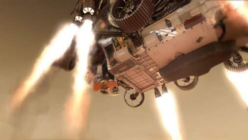 NASA показало, что ждет марсоход Perseverance при посадке на Марс в следующем году: видео