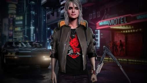 Принцесса Цирилла из игры о Ведьмаке появилась в Cyberpunk 2077, но мы ее не узнали?