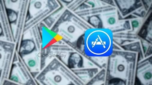 Цифри вражають: за рік користувачі витратили на мобільні додатки та ігри рекордну суму
