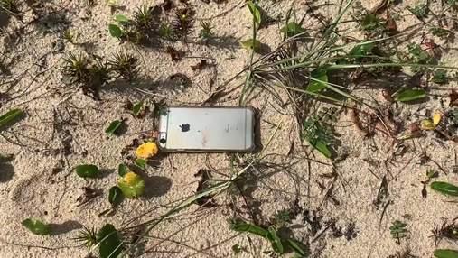 iPhone випав з літака і вцілів: що записала камера