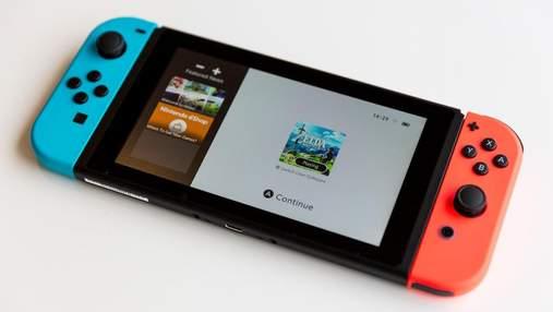 Оновлена Nintendo Switch отримає OLED-екран і нову док-станцію з підтримкою 4K