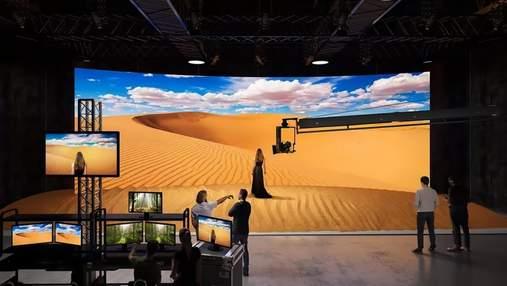 Sony представила дисплеї, які замінять зелені екрани при зйомках фільмів