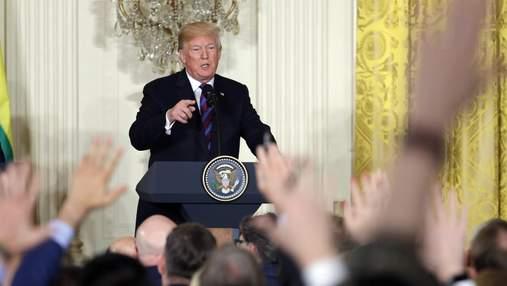 Трамп готується до першої пресконференції після штурму Конгресу