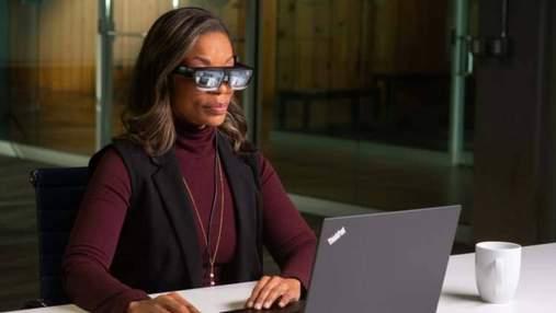 Lenovo показала нові смарт-окуляри ThinkReality A3: чим цікаві
