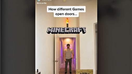 Как персонажи компьютерных игр вели бы себя в реальной жизни: блогер снял забавные видео