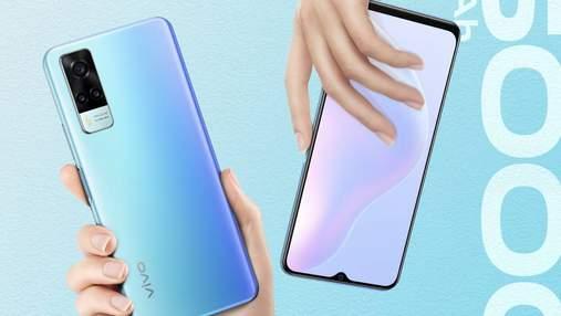 Продаж бюджетного смартфона vivo Y31 стартував в Україні: ціна
