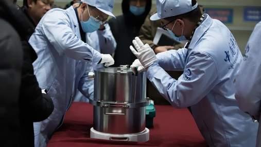 Частину доставлених з Місяця зразків ґрунту Китай зберігатиме до кращих часів