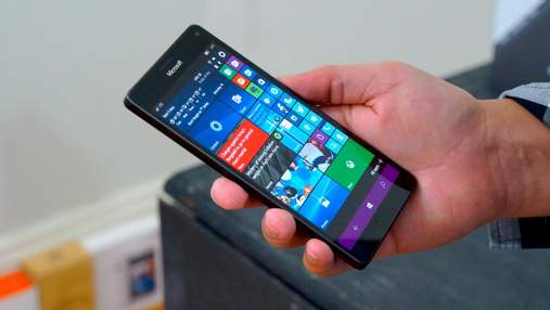 Windows 10X запустили на смартфоне Microsoft Lumia 950 XL