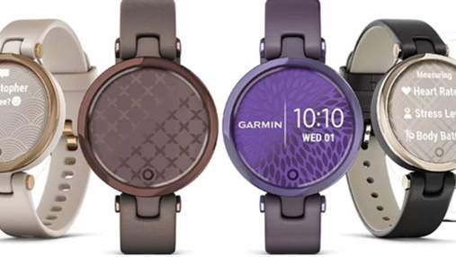 Garmin випустила розумний годинник Lily спеціально для жінок