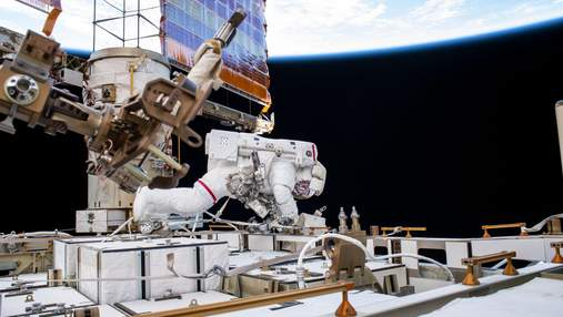 Астронавты NASA завершили трехлетнюю модернизацию батарей МКС