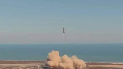 SpaceX провела испытания корабля Starship SN9: корабль снова взорвался – видео