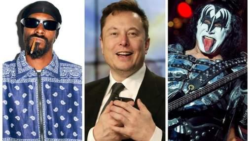 Криптовалюта Dogecoin побила рекорд після твітів Ілона Маска, Snoop Dog та басиста Kiss