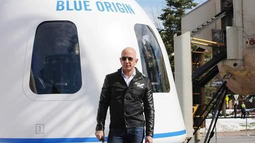 Покинув Amazon, щоб конкурувати з Маском: Джефф Безос серйозно займеться космосом