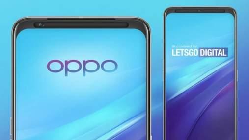 Oppo запатентовала камеру, перемещающуюся из стороны в сторону