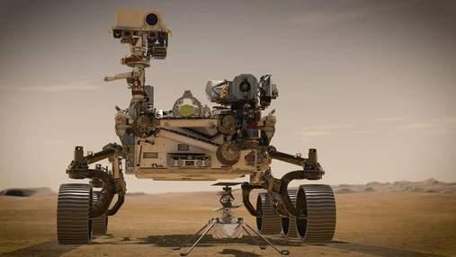 Марсоход Perseverance прислал первые цветные фото с Марса