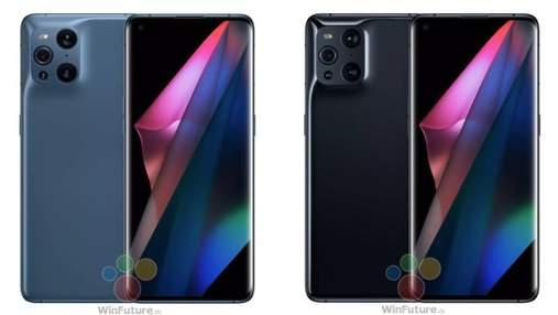 Унікальний смартфон Oppo Find X3 Pro засвітився на рендерних фото