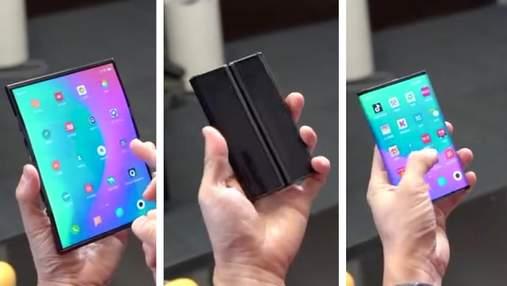 Появилась эксклюзивная информация о первом гибком смартфоне Xiaomi Mi Mix 4 Pro Max