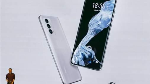 Презентували довгоочікуваний флагманський смартфон Meizu 18