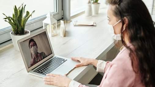 Год с COVID-19: украинцы научились ходить к врачам онлайн