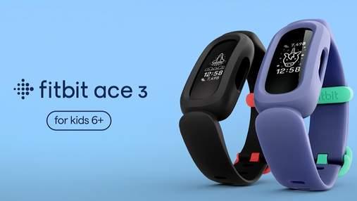 Fitbit представила дитячий фітнес-трекер Ace 3