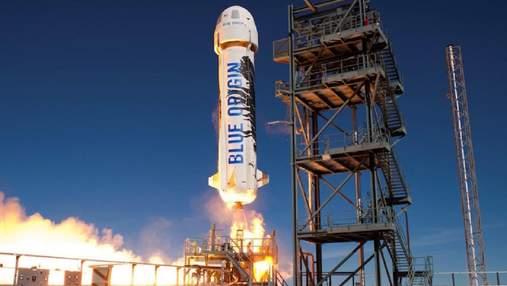 Blue Origin будет продавать NASA лунную гравитацию в пассажирской капсуле суборбитальной ракеты