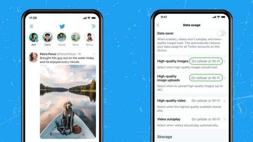 Twitter тестує новий дизайн стрічки і підтримку 4К-зображень