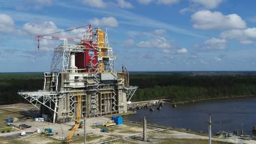 NASA оголосила дату проведення фінальних випробувань надважкої ракети SLS
