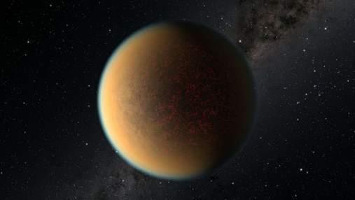 Астрономи виявили планету, яка відновила свою атмосферу завдяки вулканічній активності