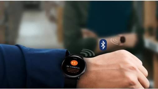 Умные часы Samsung помогут держать социальную дистанцию
