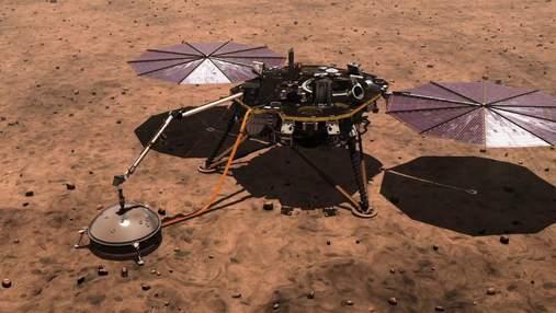 Зонд InSight измерил размеры ядра Марса
