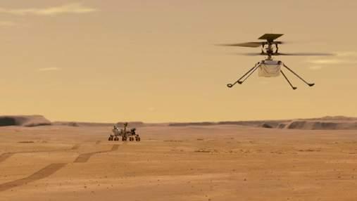 Марсіанський вертоліт Ingenuity скинув кожух, а у NASA обрали місце для тестового польоту