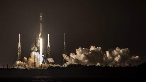 SpaceX запустила ще 60 супутників Starlink четвертий раз за березень