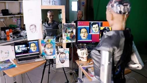 Робот София написала картину и продала ее на NFT-аукционе