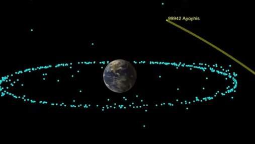 Астероїд Апофіс на сто років викреслили зі списку небезпечних
