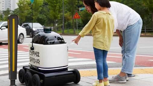 Hyundai запустить в масове виробництво автономних роботів-кур'єрів