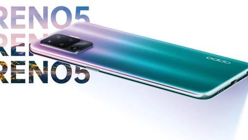 OPPO представила нову лінійку смартфонів Reno5: ціна та характеристики
