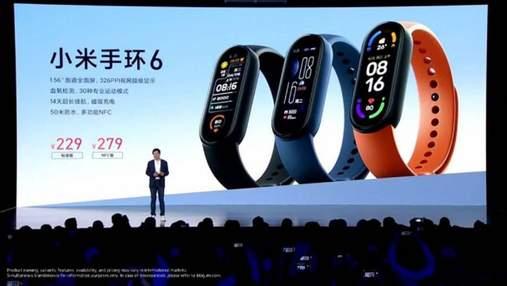 Xiaomi Mi Band 6: презентували нове покоління популярного фітнес-трекера