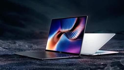 Xiaomi представила мощный ноутбук Mi Laptop Pro с очень тонкими рамками и OLED-экраном