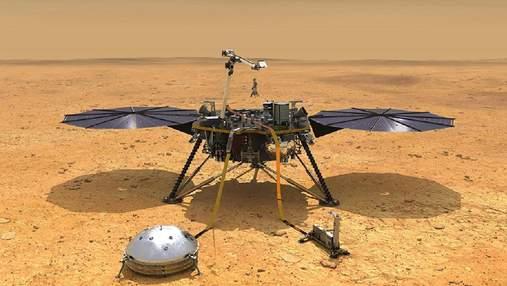 """Марсианский зонд InSight зафиксировал два сильных """"марсотрясения"""""""