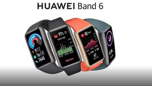 Трекер Huawei Band 6, що виглядає як смарт-годинник, з'явився на фото