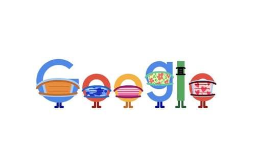 Google в новом дудле призвал украинцев носить маски