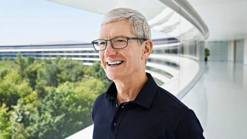 Тім Кук покине пост гендиректора Apple протягом найближчих 10 років: інтерв'ю The New York Times